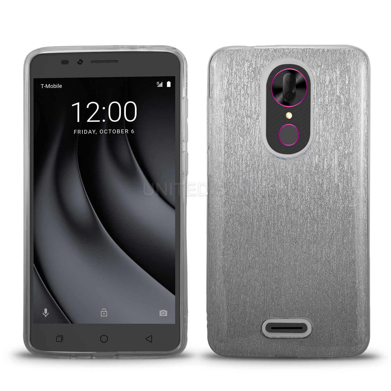 T-mobile Revvl Plus New Style Case Black