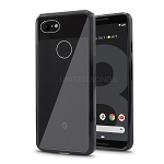 Google Pixel 3A TPU(Gel) + PC Hybrid Case Black
