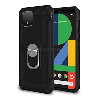 Google Pixel 4 New Hybrid Case With Ring Black