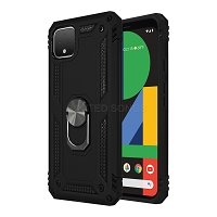 Google Pixel 4 XL New Hybrid Case With Ring Black