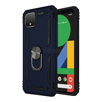 Google Pixel 4 XL New Hybrid Case With Ring Blue