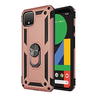 Google Pixel 4 XL New Hybrid Case With Ring Rose Gold