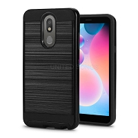 LG Tribute Royal/Aristo 4 Plus/K30 2019/Escape Plus/Arena 2 Hybrid Case Black