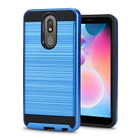 LG Tribute Royal/Aristo 4 Plus/K30 2019/Escape Plus/Arena 2 Hybrid Case Blue