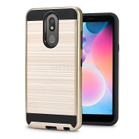 LG Tribute Royal/Aristo 4 Plus/K30 2019/Escape Plus/Arena 2 Hybrid Case Gold