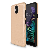 LG K30 2019/Escape Plus/Arena 2 Hybrid Case Gold