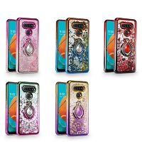 LG Stylo 6 New LQRG Liquid Glitter Dual Color Case