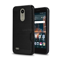 LG Tribute Dynasty SP200/Aristo 2 X210MA New VGG Hybrid Slim Protective Case Black