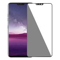 LG V40 ThinQ Full Size Tempered Glass Screen Protector Black