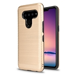LG V50 ThinQ Hybrid Case Gold
