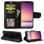 LG V50 ThinQ Wallet Case Black