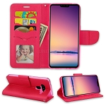 LG V50 ThinQ Wallet Case Pink