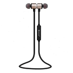 M600 Wireless Calls & Music Luxury Magnetic Design Earphones Gold