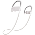 S102 Sweat & Water Resistant Wireless Sport Headset White