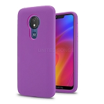 LG V50 ThinQ New Triple Layer Hybrid Protective Case Purple/Purple