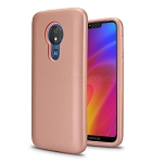 LG V50 ThinQ New Triple Layer Hybrid Protective Case Rose Gold/Rose Gold