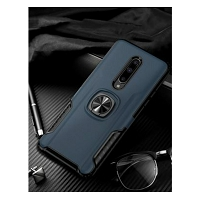 OnePlus 7 Pro New Hybrid Case With Ring Blue