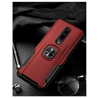 OnePlus 7 Pro New Hybrid Case With Ring Red