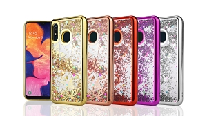 Samsung Galaxy A10S Liquid Glitter Case