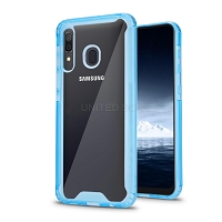 Samsung Galaxy A10s New Tech Hybrid Case Blue