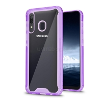 Samsung Galaxy A10s New Tech Hybrid Case Purple