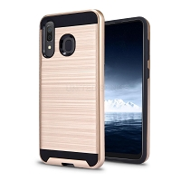 Samsung Galaxy A2 Core Hybrid Case Gold