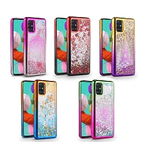 Samsung Galaxy A21S New LQPG Liquid Glitter Case