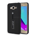 Samsung Galaxy J2 Prime G532/Grand Prime G530 Finger Grip Case With Kickstand Black