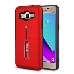 Samsung Galaxy J2 Prime G532/Grand Prime G530 Finger Grip Case With Kickstand Red