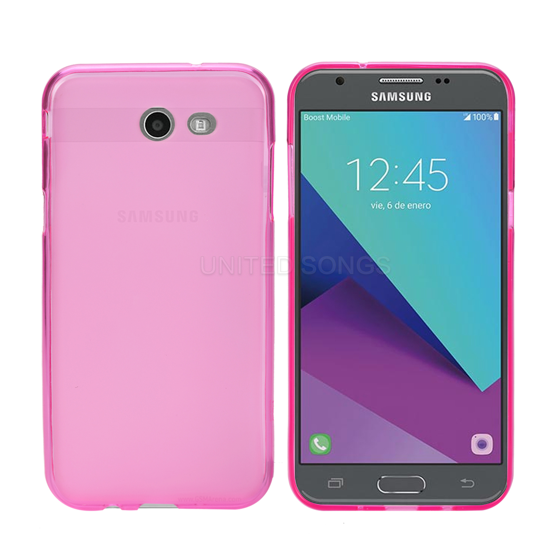 43f738caed4d Samsung Galaxy J7 Prime G610F TPU(Gel) Case Pink