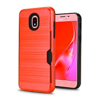 Samsung Galaxy A20/A30/A50 New VGG Hybrid Slim Protective Case Red