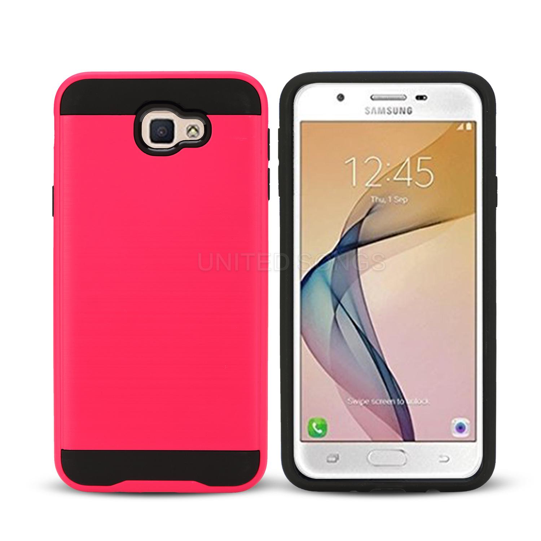 f08c691c5534 Samsung Galaxy J7 Prime G610F Hybrid Case Pink