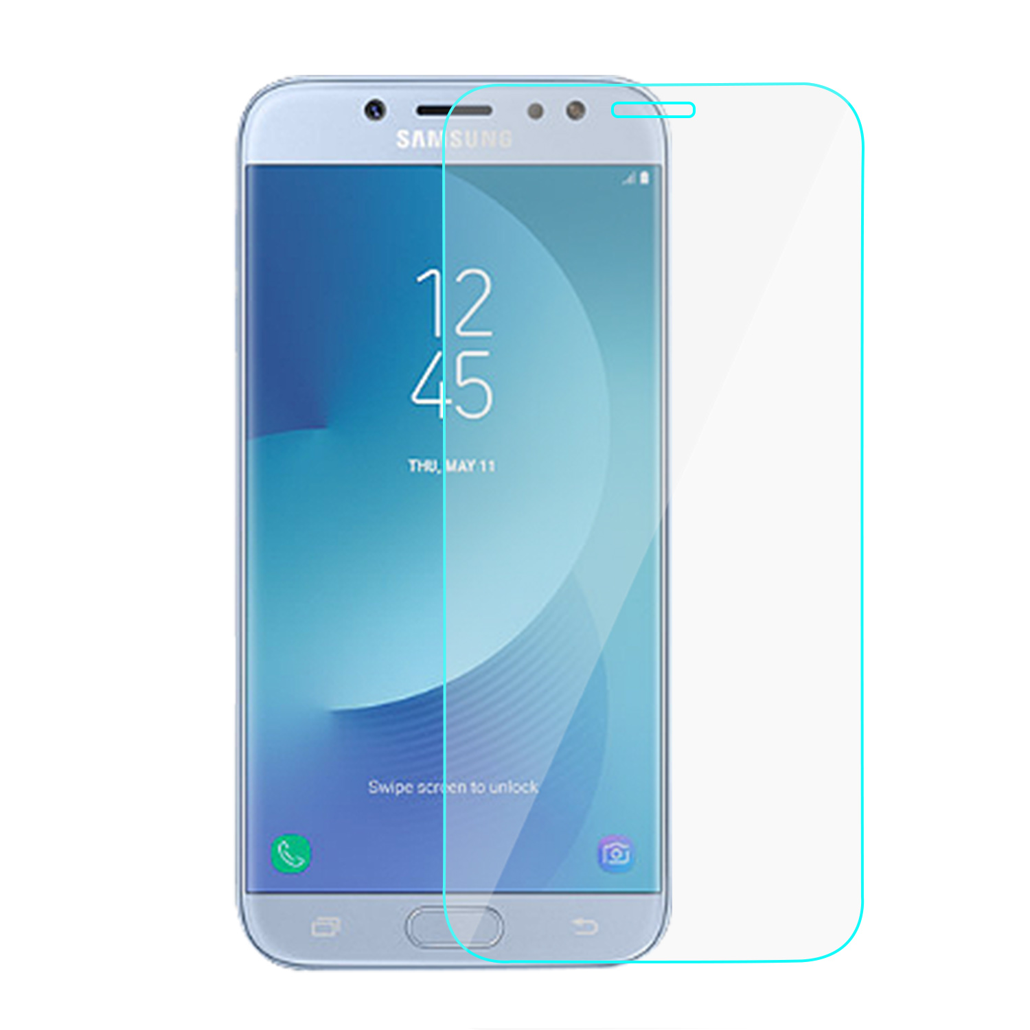 b25de41538 Samsung Galaxy J7 Pro J730G Premium Tempered Glass Screen ...