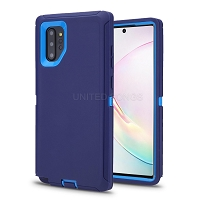 Samsung Galaxy A10e New Heavy Duty Defender Case Blue/Blue