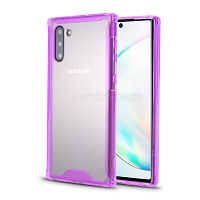 Samsung Galaxy Note 10 New Tech Hybrid Case Purple