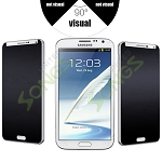 Samsung Galaxy Note 2 Premium Tempered Glass Screen Protector (Privacy)