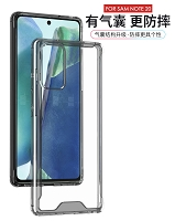Samsung Galaxy Note 20 Clear Case With Protective Bumper