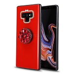 Samsung Galaxy Note 9  New Pop Holder Stylish Case Red