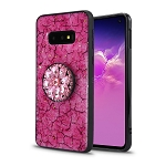Samsung Galaxy S10e New Pop Holder Fashion Case Hot Pink