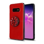 Samsung Galaxy S10 5G New Pop Holder Stylish Case Red