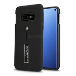 Samsung Galaxy S10e New Hybrid Finger Grip Case With Kickstand Black