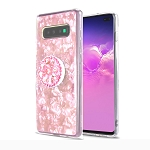 Samsung Galaxy S10e New Pop Holder Stylish Case Pink
