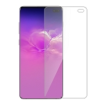 Samsung Galaxy S10 Plus Premium Full Size Tempered Glass Screen Protector Clear (No Touch ID)