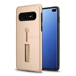 Samsung Galaxy S10 Plus New Hybrid Finger Grip Case With Kickstand Rose Gold