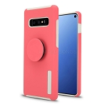 iPhone 7/8 New Pop Holder Impact Protective Case Pink/White
