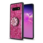 Samsung Galaxy S10 New Pop Holder Fashion Case Hot Pink