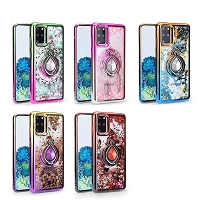 iPhone 12 Pro Max New LQRG Liquid Glitter Dual Color Case