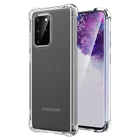 Samsung Galaxy S20 Plus Clear Case With Bumper