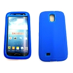 Samsung Galaxy S4 Heavy Duty Case With Screen Protector Blue/Blue