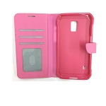 Samsung Galaxy S5 Active Wallet Case Pink